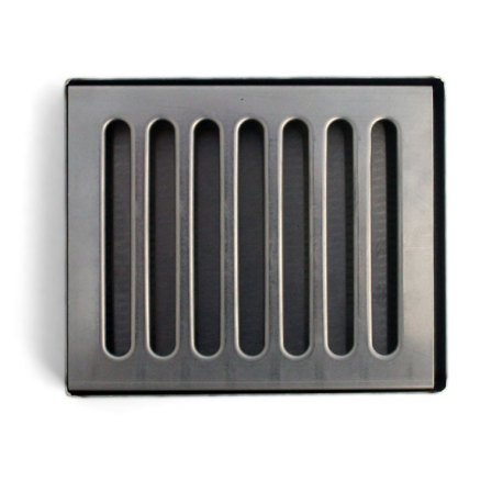 6 in. Stainless Steel Counter Mount Drip Tray