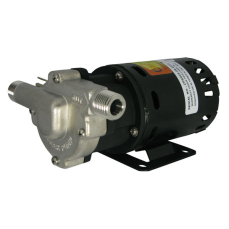 Chugger Pumps Stainless Steel Inline Brew Pump