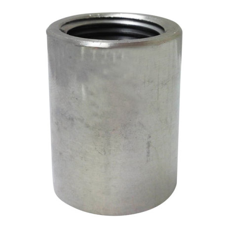 1/2 in. Stainless Steel Coupler