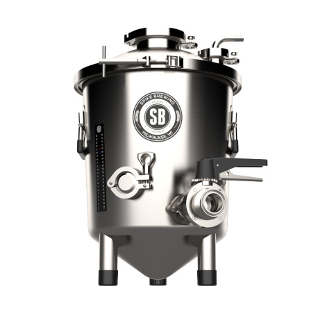 Spike Brewing Flex+ 7 Gallon Stainless Steel Fermenter with Butterfly Valve