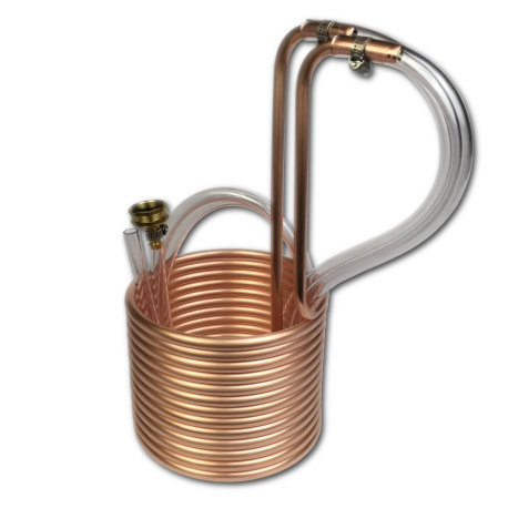 Copper Immersion Wort Chiller
