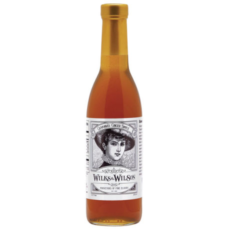 Wilks and Wilson Ginger Simple Syrup - 375 mL