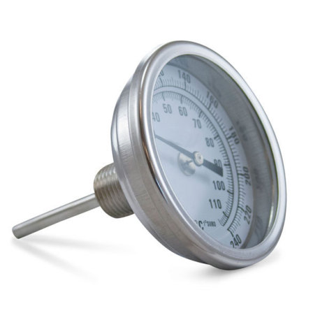 Brew Kettle Dial Thermometer - 2.5 in. Stem