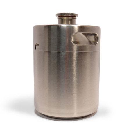Stainless Steel Growler, 64 oz.