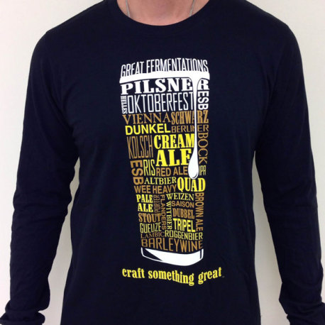 Beer Styles Long Sleeve Shirt