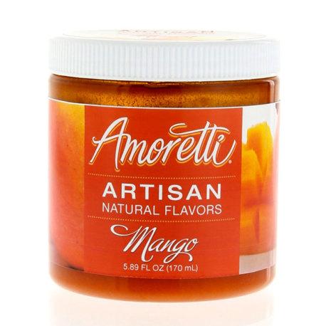 Amoretti Mango Artisan Natural Flavoring, 8 oz.