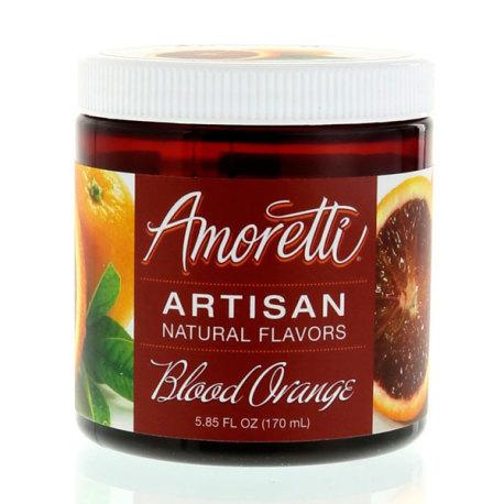 Amoretti Blood Orange Artisan Natural Flavoring, 8 oz.