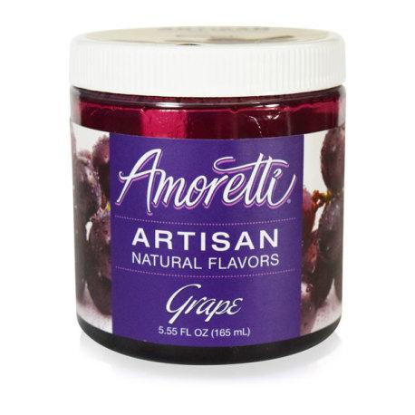 Amoretti Grape Artisan Natural Flavoring, 8 oz.