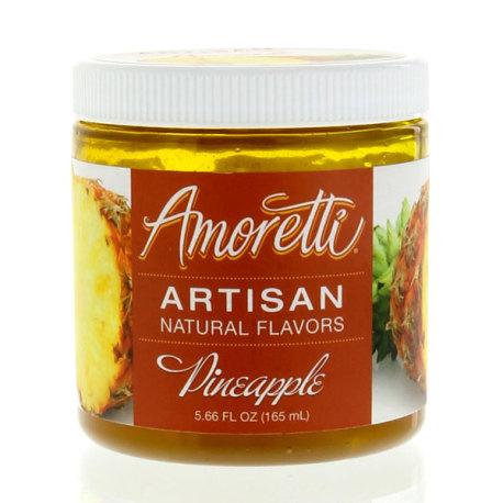 Amoretti Pineapple Artisan Natural Flavoring, 8 oz.