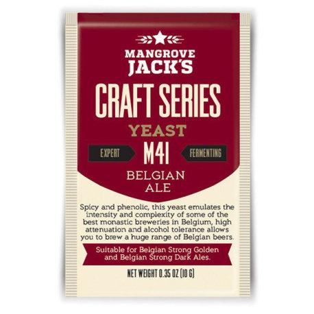 Mangrove Jack M41 Belgian Ale Yeast