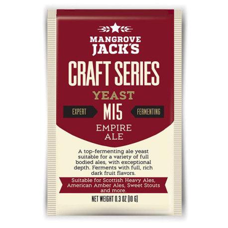 Mangrove Jack M15 Empire Ale Yeast