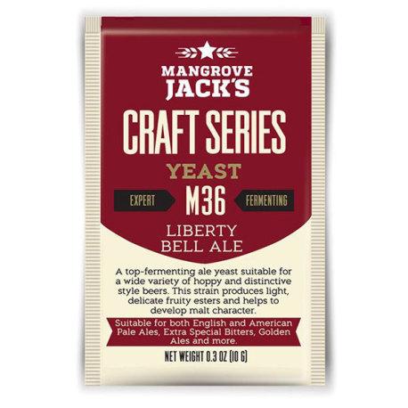 Mangrove Jack M36 Liberty Bell Ale Yeast