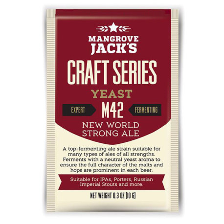 Mangrove Jack M42 New World Strong Ale Yeast