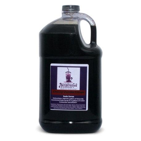 Cherry Vanilla Cream Soda Syrup, 1 Gallon