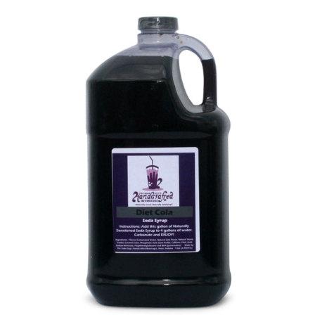 Chocolate Soda Syrup, 1 Gallon