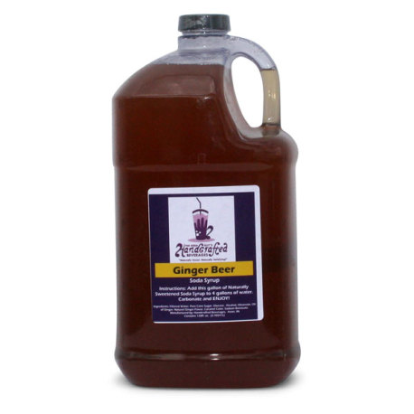 Ginger Soda Syrup, 1 Gallon