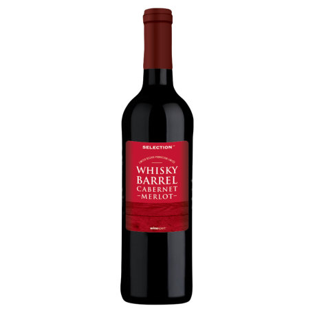 Whisky Barrel Cabernet-Merlot Blend Wine Kit by Winexpert Selection