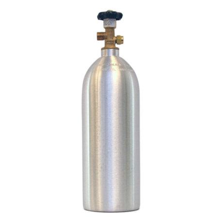 NEW Aluminum 5 lb  CO2 Tank