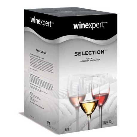 California White Zinfandel Wine Kit - Winexpert Selection
