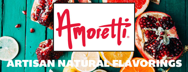 Amoretti Artisan Natural Flavorings