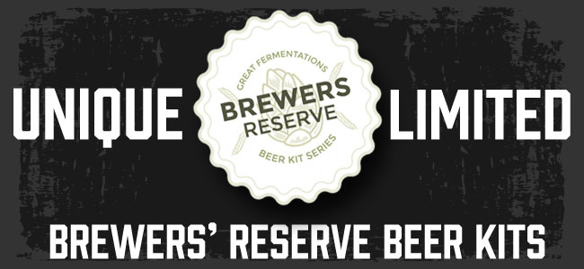 Brewers Reserve Beer Kits