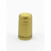 Gold/Black Grape Shrink Caps