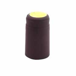 Metallic Burgundy Shrink Caps