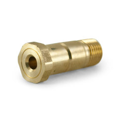 Brass Regulator Stem Left Handed Thread (Tightens When Turned Left)