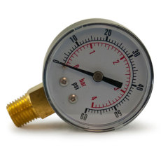 Regulator Gauge - Output Pressure RHT