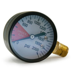 Regulator Gauge - Tank Pressure RHT