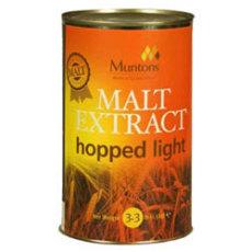 Muntons Hopped Light Liquid Malt Extract, 3.3 lbs.