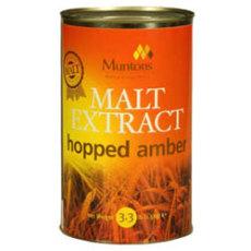 Muntons Hopped Amber Liquid Malt Extract, 3.3 lbs.