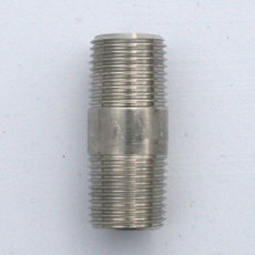 1/2 in. X 2 in. Threaded NPT SS Nipple