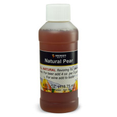 Pear Natural Flavoring, 4 fl oz.