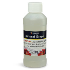Grape Natural Flavoring, 4 fl oz.