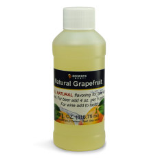Grapefruit Natural Flavoring, 4 fl oz.