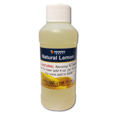 Lemon Natural Flavoring, 4 fl oz.