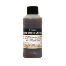 White Chocolate Natural Flavoring, 4 fl oz.