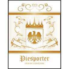 Piesporter Self Adhesive Wine Labels, pkg of 30