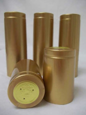 Gold Shrink Caps - Oversize - 30 Count