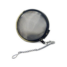 Hop Ball, stainless, 3 in. with Chain_1