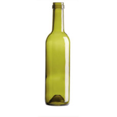 375 mL Green Bordeaux Bottles, Case of 12