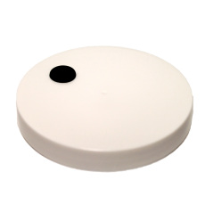 Grommeted Lid for Wide Mouth Gallon Jar