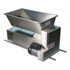 All Stainless Steel Motorized Grape Crusher Destemmer for Automatic Crushing-Destemming of Grapes