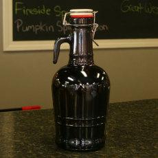 2 Liter Growler - Glass Handle