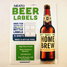 Neato Beer Labels