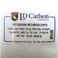 Potassium Metabisulfite, 10 lb