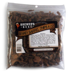 Brandy Barrel Oak Chips, 4 oz