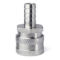 1/2 in. Barb Stainless Female Quick Disconnect