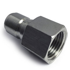 1/2 in. FPT Stainless Male Quick Disconnect Threads